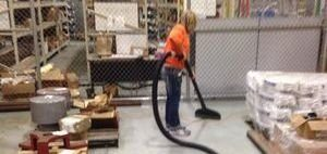 Cleaning Up A Flooded Warehouse Space